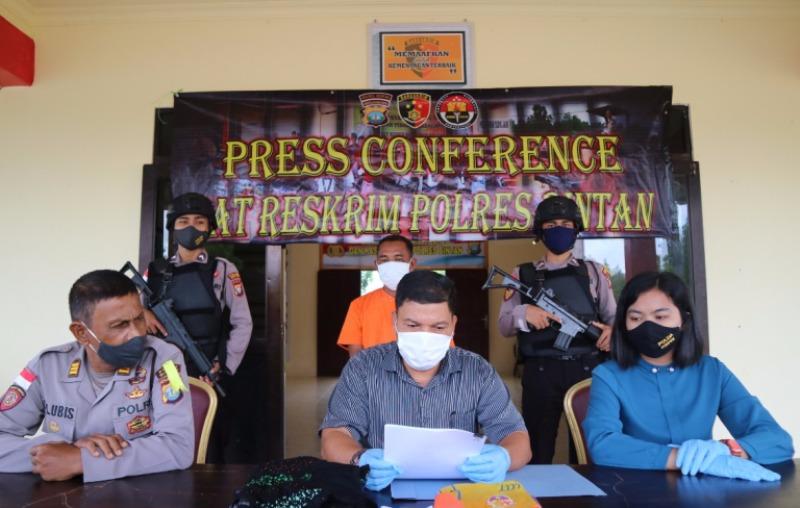 Pelaku Pencabulan Anak dibawah Umur Berhasil Diamankan Satreskrim Polres Bintan