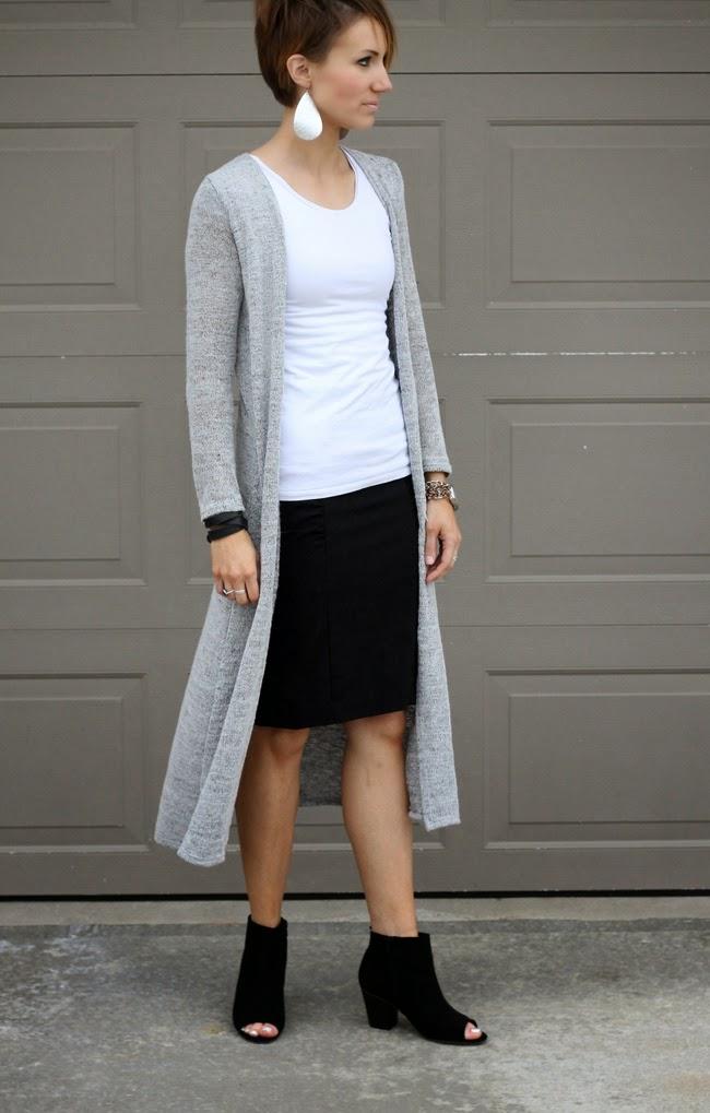 Sunday Style Maxi Cardigan One Little Momma