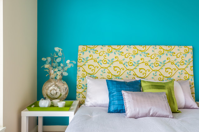 Turquoise bedroom paint colors