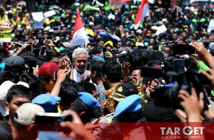 Aksi Damai BEM Se- Jawa Tengah Menolak Revisi Undang Undang KPK