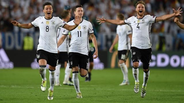 Jerman 1-1 Italia [PK: 6-5] : Perang Taktik yang Cantik