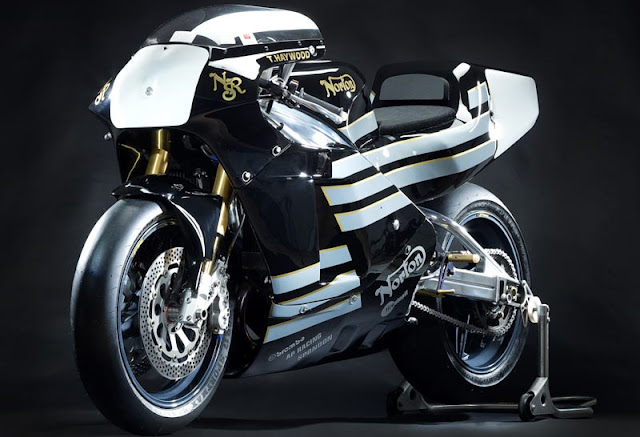 Norton NRS 588 British racing motorbike