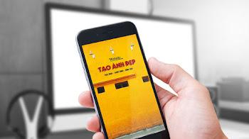 Tạo hình nền điện thoại bức tường tiệm bánh Cối Xay Gió Đà Lạt