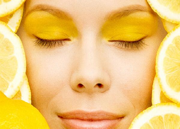 Method of using lemon for the face