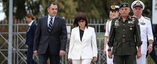 Τον Ελληνικό Στόλο θα επιθεωρήσει αύριο Πέμπτη η ΠτΔ για πρώτη φορά
