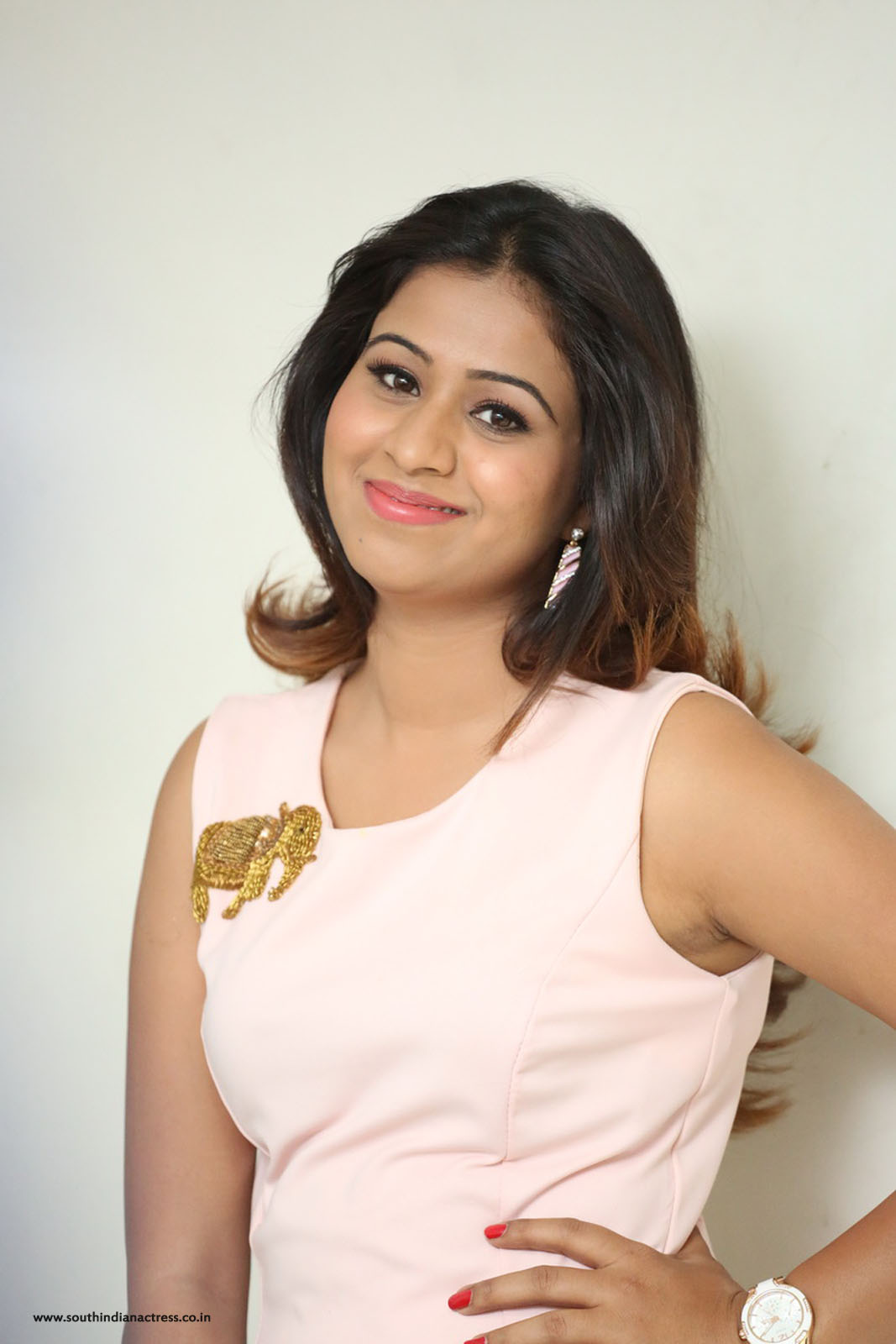 Manali Rathod Photos At Ladies Tailor Movie Press Meet
