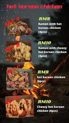 menu korea jb