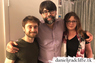 Joe Hill visits Daniel Radcliffe at The Lifespan of a Fact