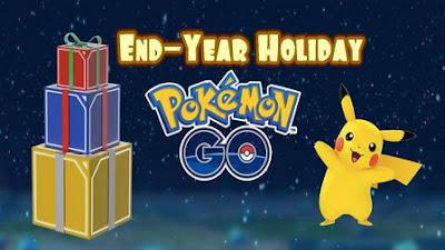 Event Liburan Akhir Tahun di Pokemon Go