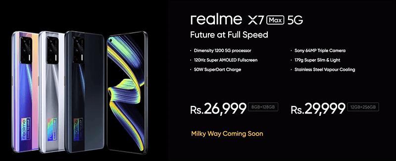 realme X7 Max 5G India price