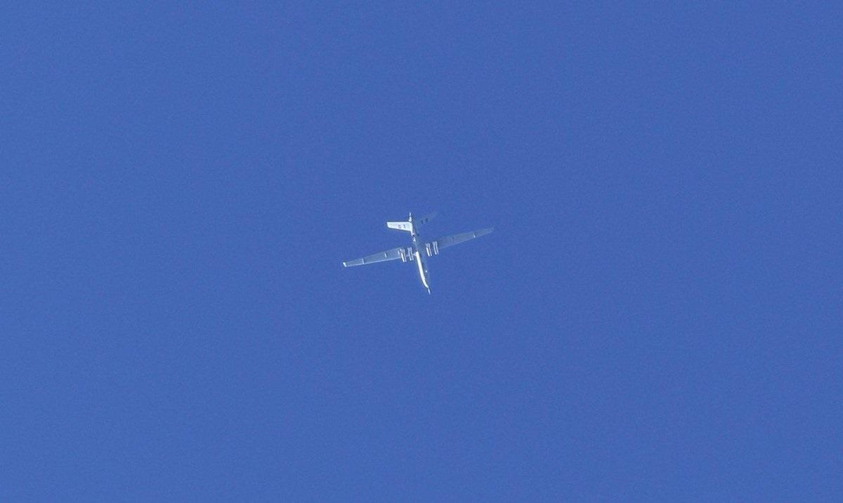 Drone Serang buatan Cina Terlihat di Udara Tripoli