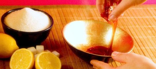 recette pour s 39 piler la p te de sucre ou la cire orientale. Black Bedroom Furniture Sets. Home Design Ideas