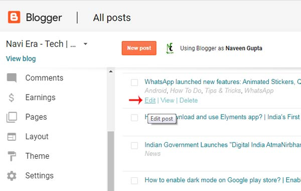 How to fix blog post's font size problem in new blogger UI?
