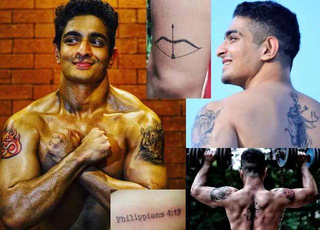 Ranveer Allahbadia tattoos