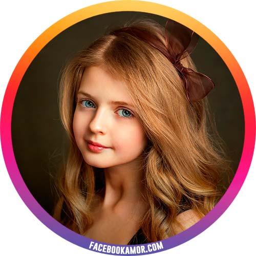 postales de niñas para perfil
