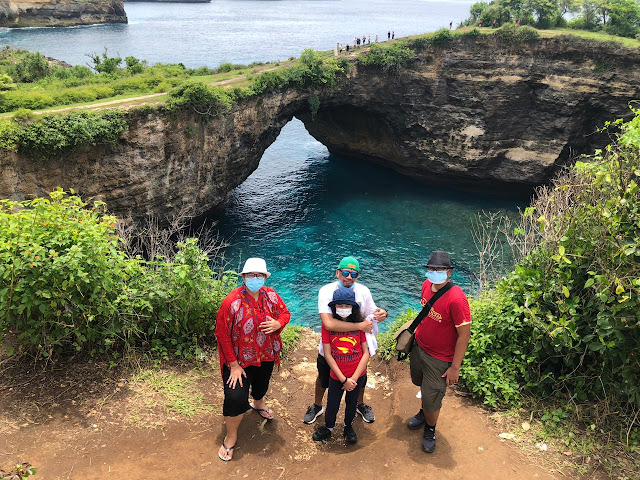 Broken Beach and Angel's Billabong, Nusa Penida, Bali