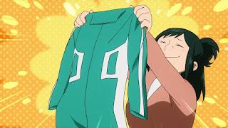 ヒロアカアニメ   緑谷引子   Inko Midoriya   僕のヒーローアカデミア My Hero Academia   Hello Anime !