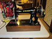 Singer 15-90 Handcrank Sewing Machine