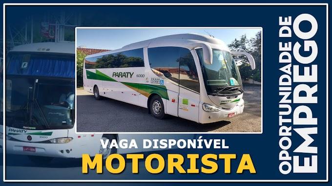 Paraty Transportes abre vagas para Motorista Rodoviário