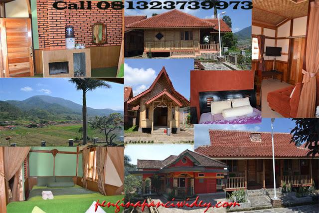 Booking villa di area wisata kawah putih dari sukoharjo