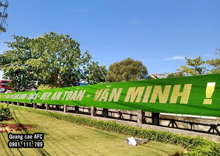 Dự án thi công thảm cỏ nhân tạo gắn chữ nổi Alu tại Phú Quốc