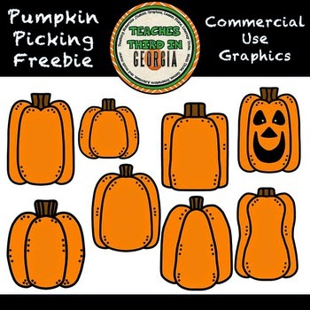 Pumpkin Picking Freebie