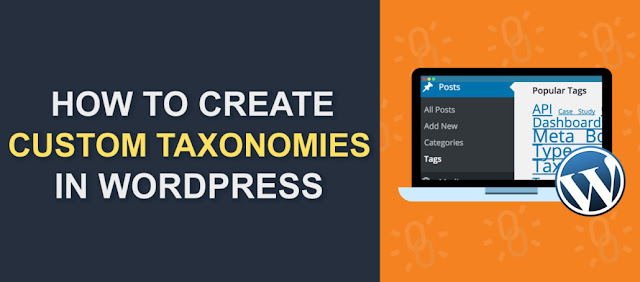 How to Create Custom Taxonomies in WordPress