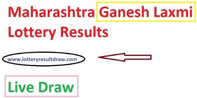 Maharashtra GaneshLaxmi Lottery Results 05.12.2020 Live Draw