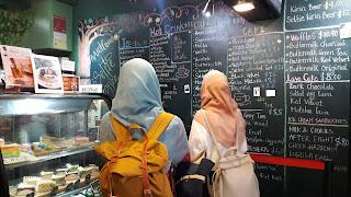 haji lane, selfie coffee, singapura, kuliner haji lane, kuliner singapura