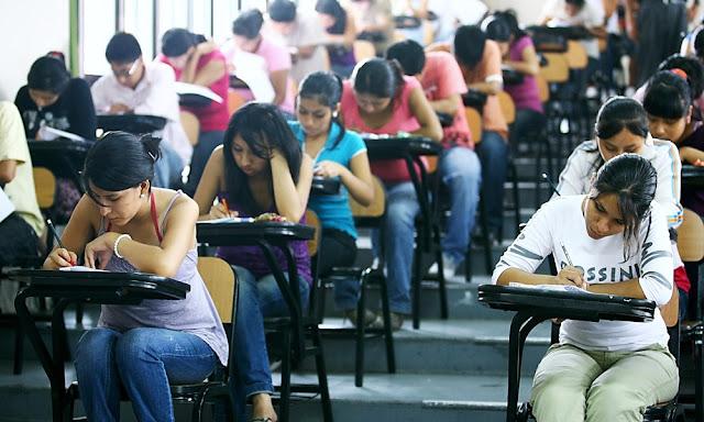 Examen especial de ingreso para estudiantes de universidades no licenciadas