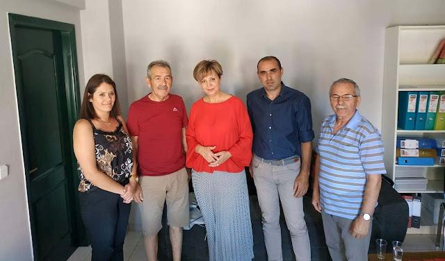 Οι τρίτεκνοι της Άρτας συναντήθηκαν με την Όλγα Γεροβασίλη