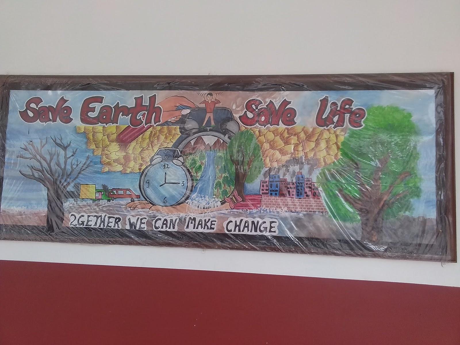 Neeti Artist School Board Decoration Ideas