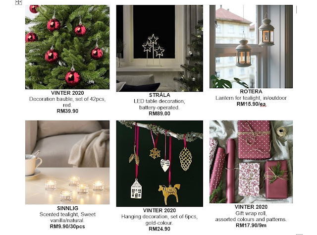 Christmas at Home, Reinvent the festive season with IKEA, IKEA Malaysia, IKEA, Christmas Home, Ikea Christmas Decor, Home Decor, Lifestyle