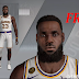 LeBron James Cyberface, Hair and Body Model by emnashow2k [FOR 2K20]