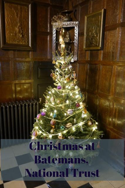 Christmas tree at Bateman's