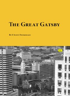 The Great Gatsby PDF Books By  F. Scott Fitzgerald
