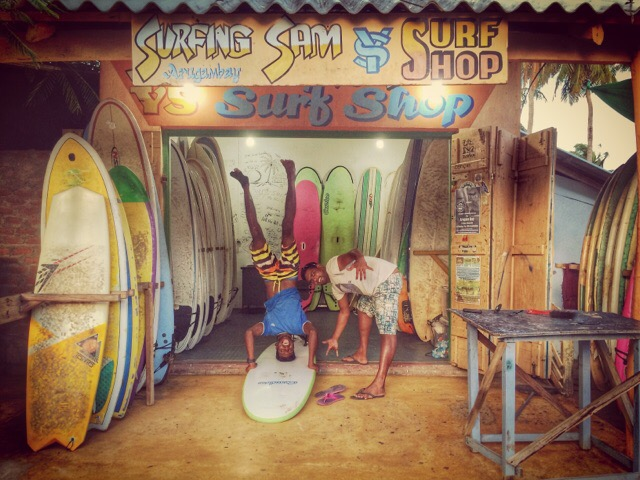 Surfing Sam Surfshop in Arugam Bay