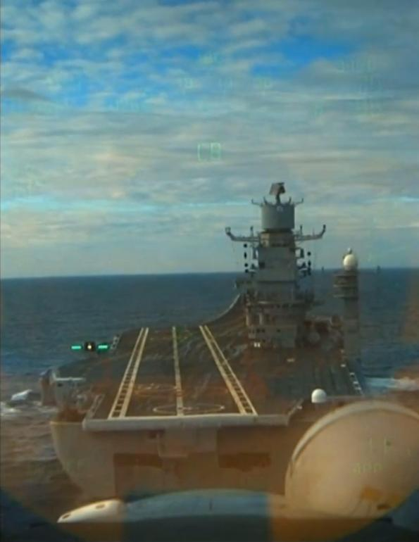 Cockpit View of MiG29 KUB Fulcrum Landing on INS