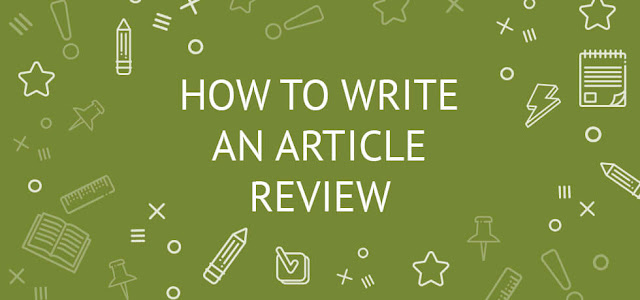 Review Paper Research Article Writing