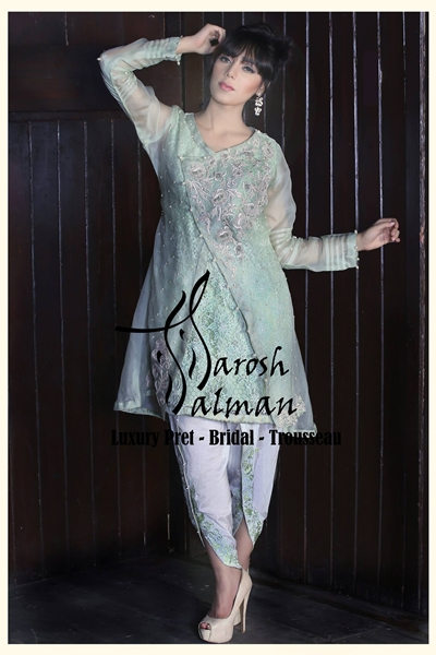 Sarosh Salman Winter Pret Formal Wear 2016-17