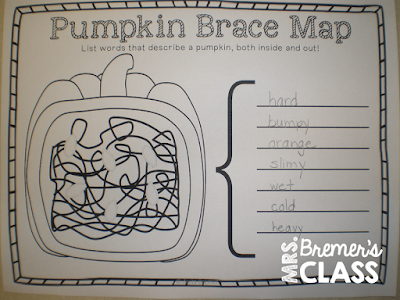 Pumpkin Patch Parable book study companion activities for Kindergarten