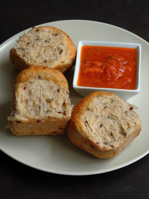 Vegan Spelt Flour Bread Rolls, Vegan Seeded Spelt Flour Bread rolls