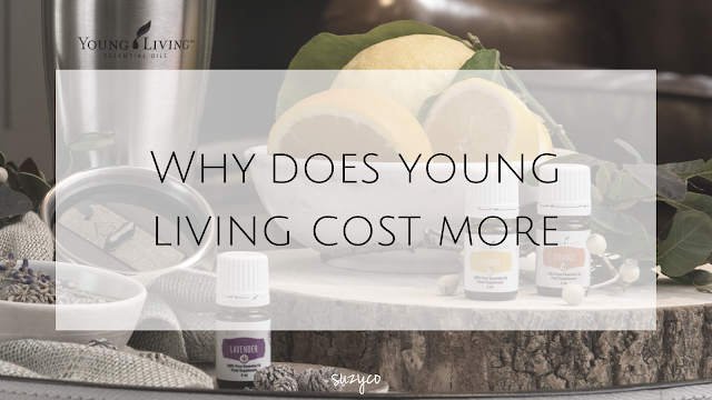 Why do young living essential oils cost more