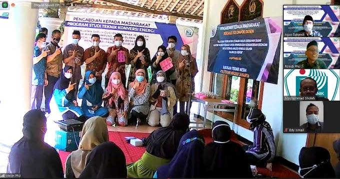 Berdayakan Masyarakat, PNJ Berikan Pelatihan Bikin Sabun dari Minyak Jelantah