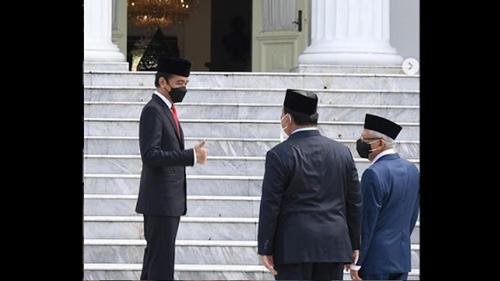 Prabowo Posting Foto Bareng Presiden-Wapres, M. Qodari: Ini Kan Simbolik Banget