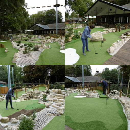 Putt in the Park at Battersea Park in London