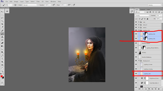 39 Design cover buku Novel dengan Photoshop CC part2