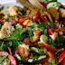 Fatttush / Mixed Herbs and Toasted Bread Salad Recipe
