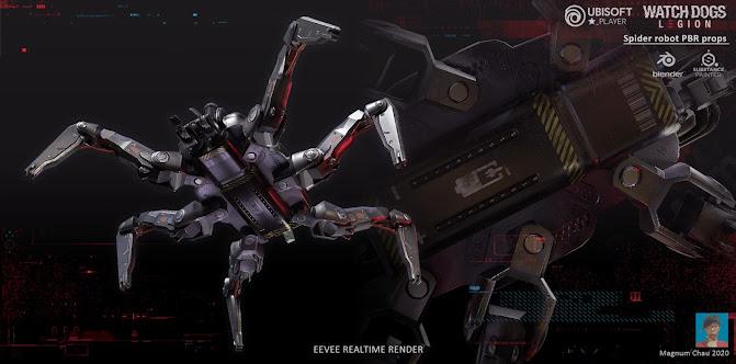 Watch Dogs Legion spiderbot