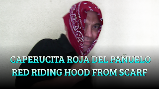 Caperucita roja del pañuelo, CHAPEAUGRAPHY, Red riding hood from handkerchief
